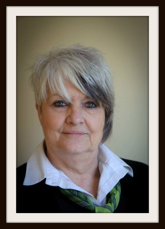 Funeral administrator Jan Hollies works at Heath Hayes branch.